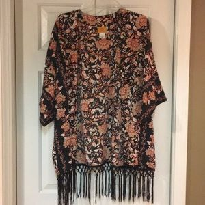 Ruby Rd Kimono-Style Cardigan